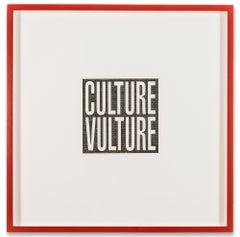 Culture Vulture, Print, Archival Pigment, Feminist Art by Barbara Kruger