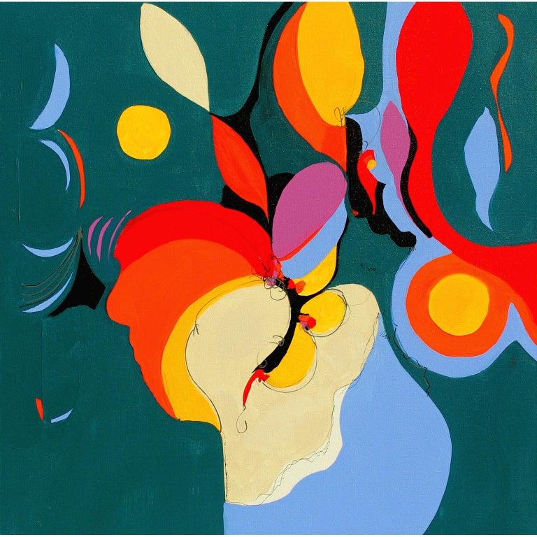 Barbara Krupp Abstract Painting - Vibration - abstract painting