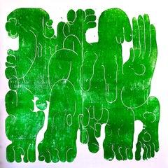 Green bodies/ colour green
