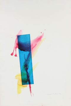 Post-Modern Abstract Drawings and Watercolours
