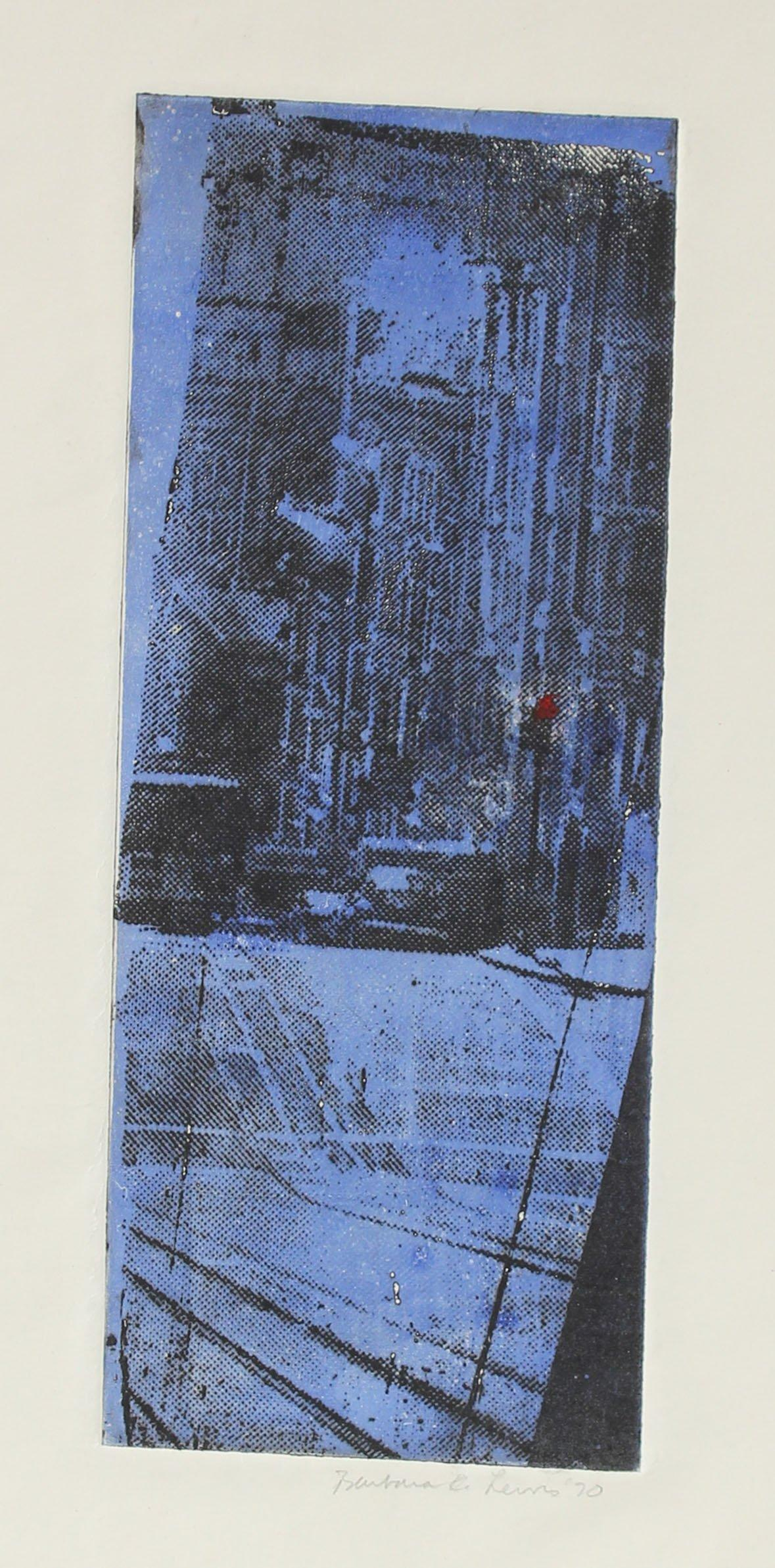 Indigo San Francisco City Detail 1970 Photo-Etching