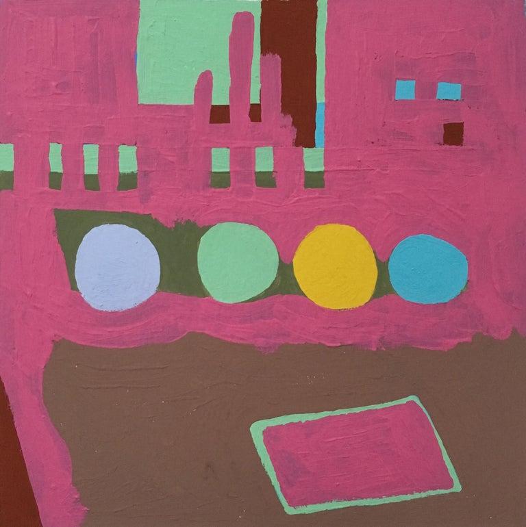 Barbara Marks Abstract Painting - Recollection No. 38