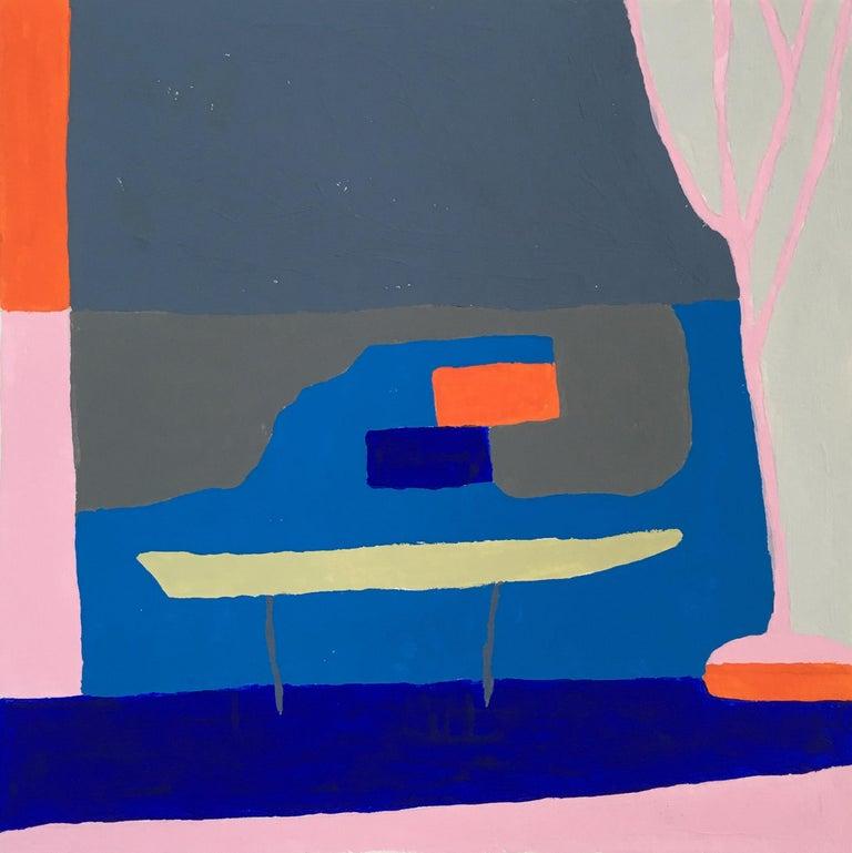 Barbara Marks Abstract Painting - Recollection No. 39