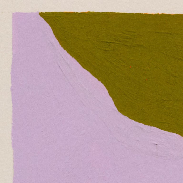 Recollection No. 42.2 - Brown Abstract Painting by Barbara Marks