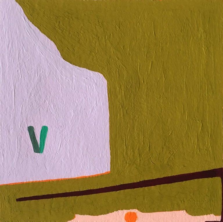 Barbara Marks Abstract Painting - Recollection No. 42.2