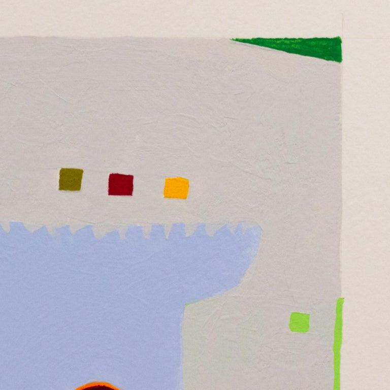 Recollection No. 49 - Gray Abstract Drawing by Barbara Marks
