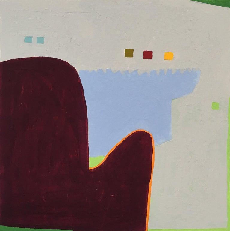 Barbara Marks Abstract Drawing - Recollection No. 49