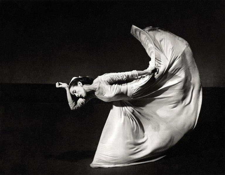 "Barbara Morgan Figurative Photograph - Martha Graham, ""Letter to the World"" (Kick)"
