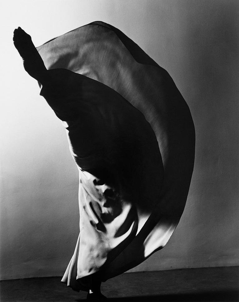 "Barbara Morgan Figurative Photograph - Valerie Bettis, ""The Desperate Heart"" (Kick)"