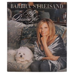 Barbara Streisand My Passion for Design Decorating Hardcover Coffee Table Book