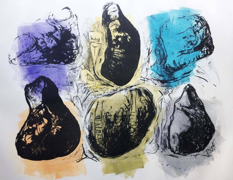 Barbara Wagner Figurative Print - It's Only Rock 2