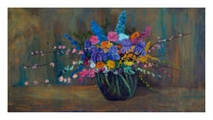 Spring Bouquet - Horizontal Floral Still Life