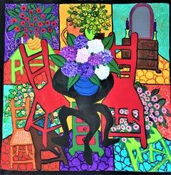 Post-Impressionist Interior Paintings