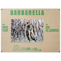 Barbarella 1968 Swiss Scene Card