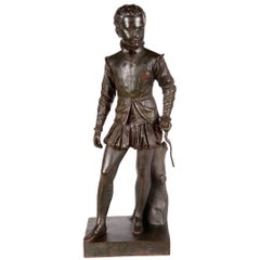 Barbedienne Bronze Statue of Henry IV, 19th Century