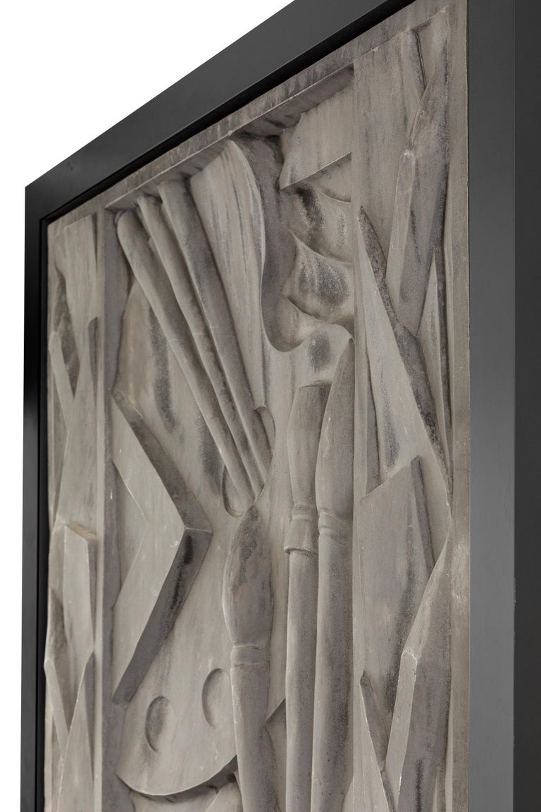 Barbizon Plaza Hotel Cast Aluminum Frieze Panel, New York, 1930 In Good Condition For Sale In New York, NY