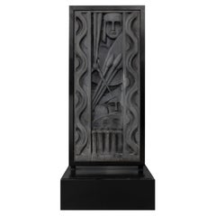 Barbizon Plaza Hotel Cast Aluminum Frieze Panel, New York 1930