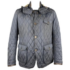 BARBOUR Limited Edition by TOKITO Size L Navy Quilted Poliammide Jacket