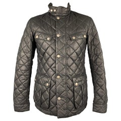 BARBOUR x Steve McQueen Collection Size L Black Quilted Polyester Jacket