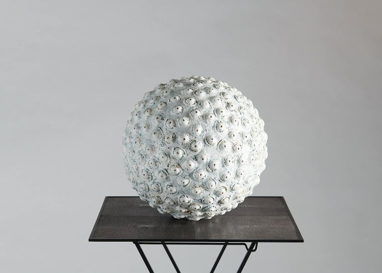 Danish Barbro Åberg 'Orb,' Contemporary Stoneware Sculpture, Denmark, 2019 For Sale