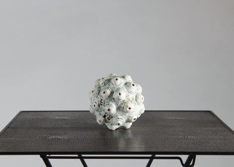 Danish Barbro Åberg 'Orb,' Contemporary Stoneware Sculpture, Denmark, 2019 For Sale