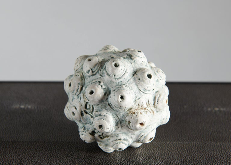 Barbro Åberg 'Orb,' Contemporary Stoneware Sculpture, Denmark, 2019 In Excellent Condition For Sale In New York, NY