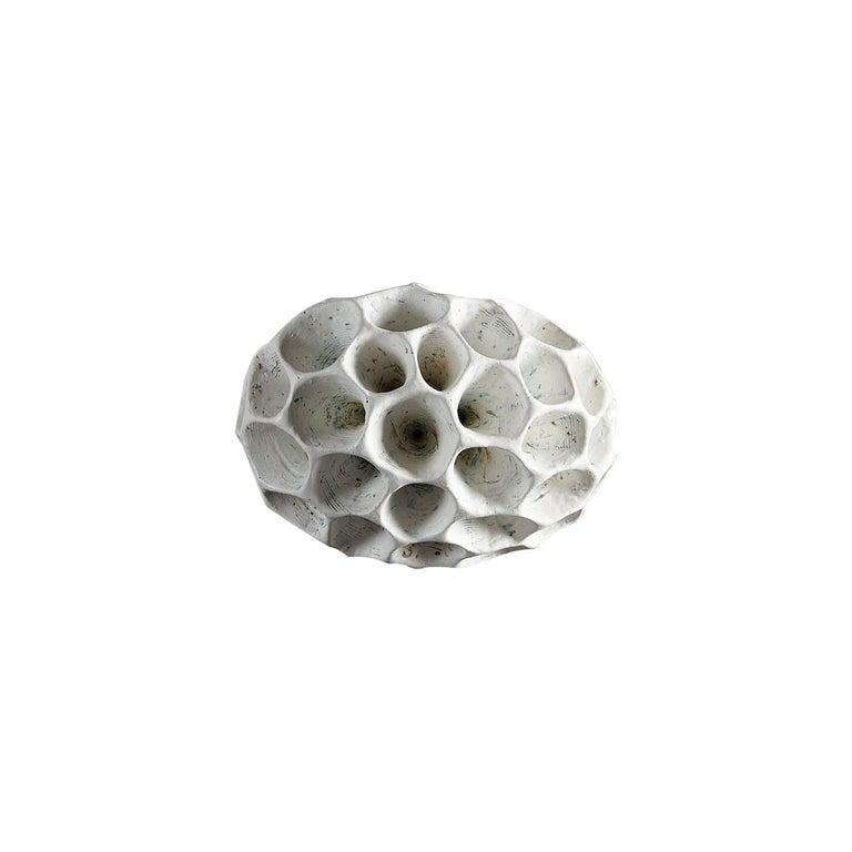 Barbro Åberg 'Speaker,' Contemporary Stoneware Sculpture, Denmark, 2019 For Sale