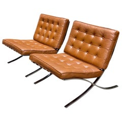 Barcelona Chairs for Charlton, Pair