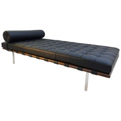 Barcelona Daybed by Mies van der Rohe, Mfg. Knoll