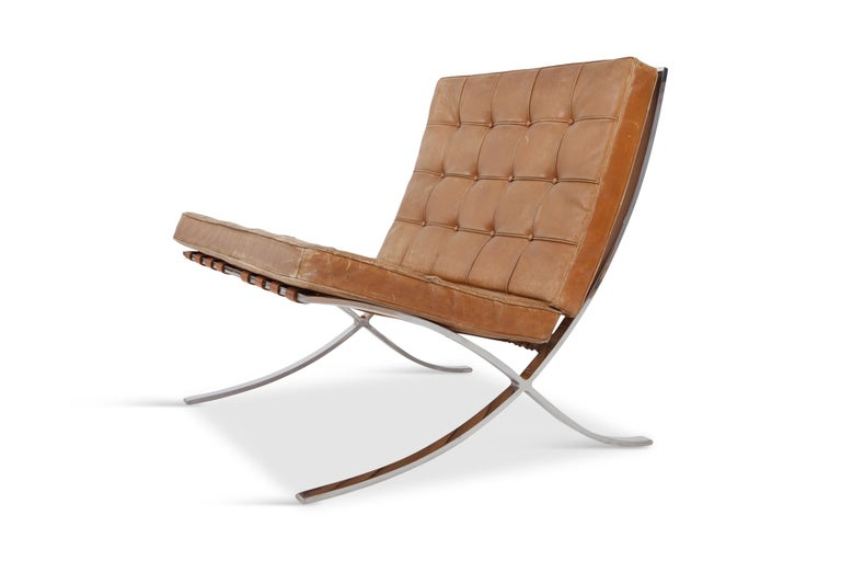 Barcelona Lounge Chairs By Ludwig Mies Van Der Rohe In