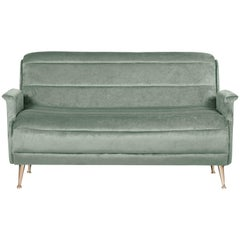 Bardot Sofa in Ash Green