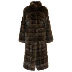 Barguzin Sable Coat (Silvery 5)