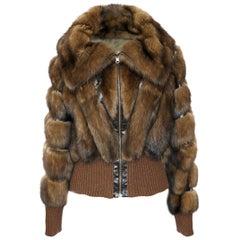Helen Yarmak Barguzin Sable Jacket