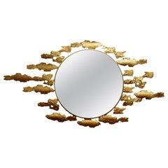 'Bark' Bronze Mirror