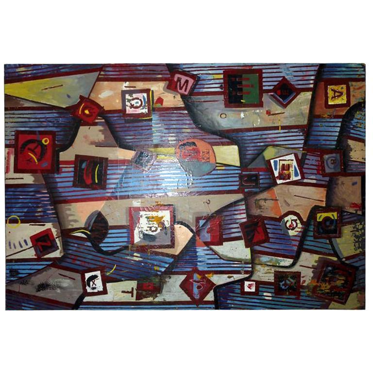 Barminski Oil on Canvas