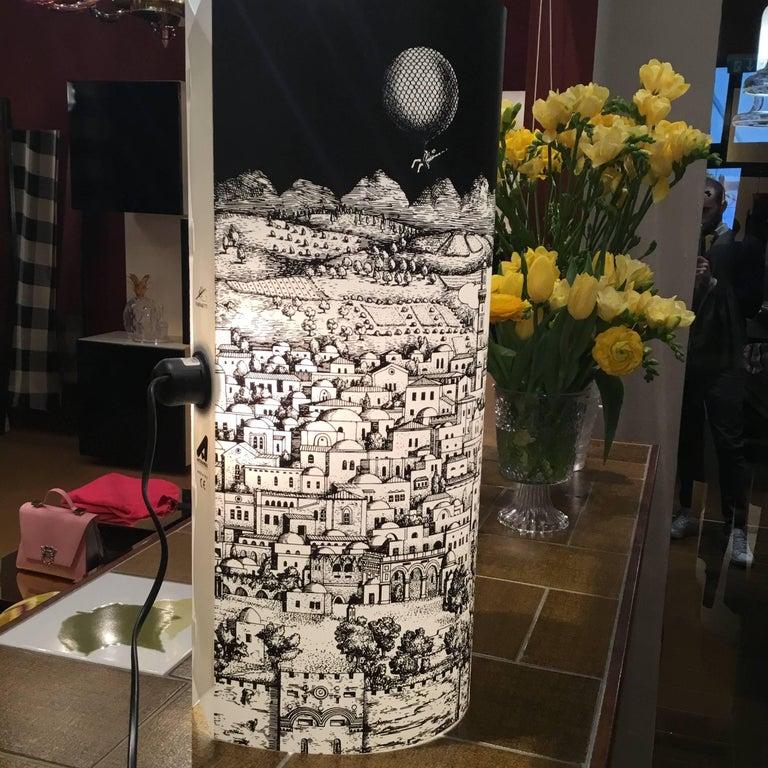 Barnaba Fornasetti Table Lamp for Antonangeli For Sale 1