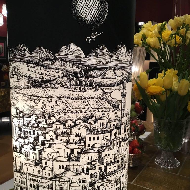 Barnaba Fornasetti Table Lamp for Antonangeli For Sale 2