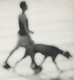 Man With Dog ( Side View), 1997