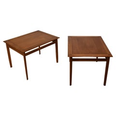 Barney Flagg for Drexel Parallel Series End Tables