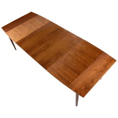 Barney Flagg for Drexel Parallel Walnut Dining Table