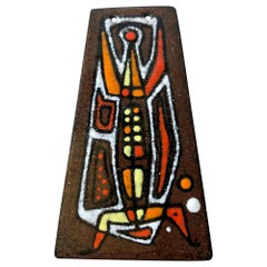 Barney Reid San Diego Abstract Modernist Enamel Pendant