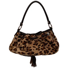 Barneys New York Leopard Print Handbag