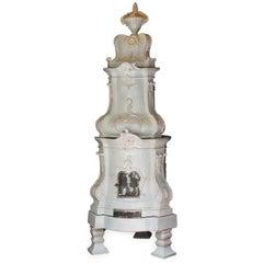 Barocca Veneta Ceramic Stove by Manetti e Masini