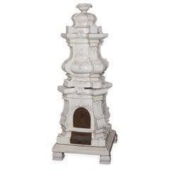Barocca Veneta Small Ceramic Stove by Manetti e Masini