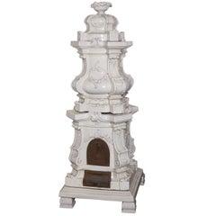 Barocca Veneta Small Ceramic Stove