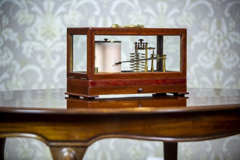 English Barograph from the Turn of the 19th and 20th Centuries For Sale