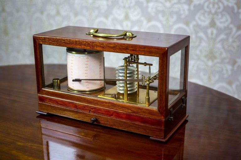 19th Century Barograph from the Turn of the 19th and 20th Centuries For Sale
