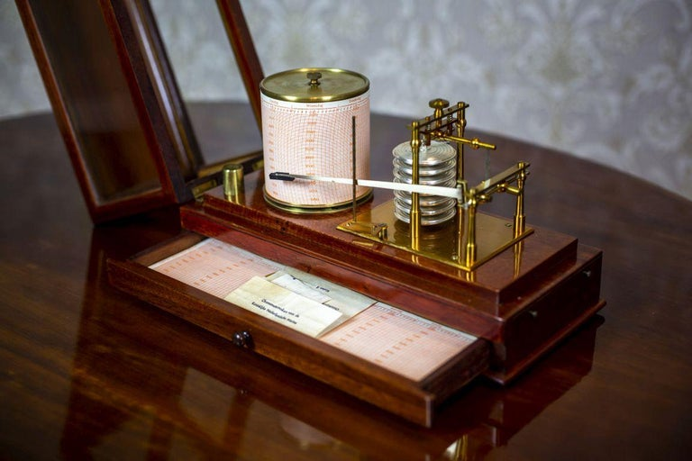 Barograph from the Turn of the 19th and 20th Centuries For Sale 2