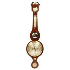 Barometer Joseph Solcha Hull Warranted English Manufacture, Mid-19th Century