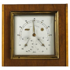 Barometer Weather Station Mid-Century Modern, 1960s